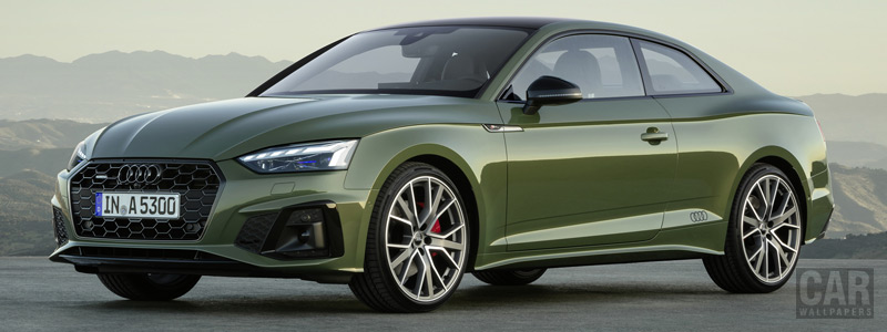 Cars wallpapers Audi A5 Coupe 40 TFSI quattro S line - 2019 - Car wallpapers