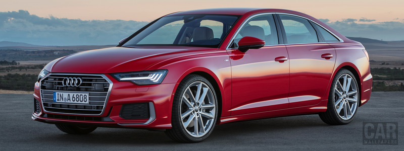 Cars wallpapers Audi A6 55 TFSI quattro S line - 2018 - Car wallpapers