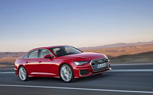 Cars wallpapers Audi A6 55 TFSI quattro S line - 2018