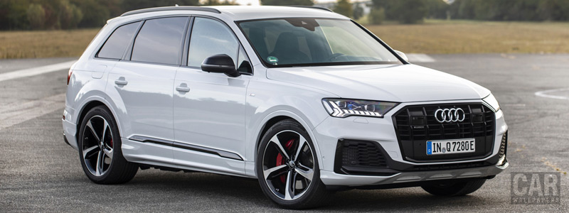 Cars wallpapers Audi Q7 60 TFSI e quattro S line - 2019 - Car wallpapers