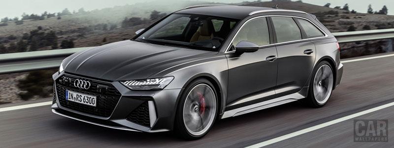 Cars wallpapers Audi RS6 Avant - 2019 - Car wallpapers