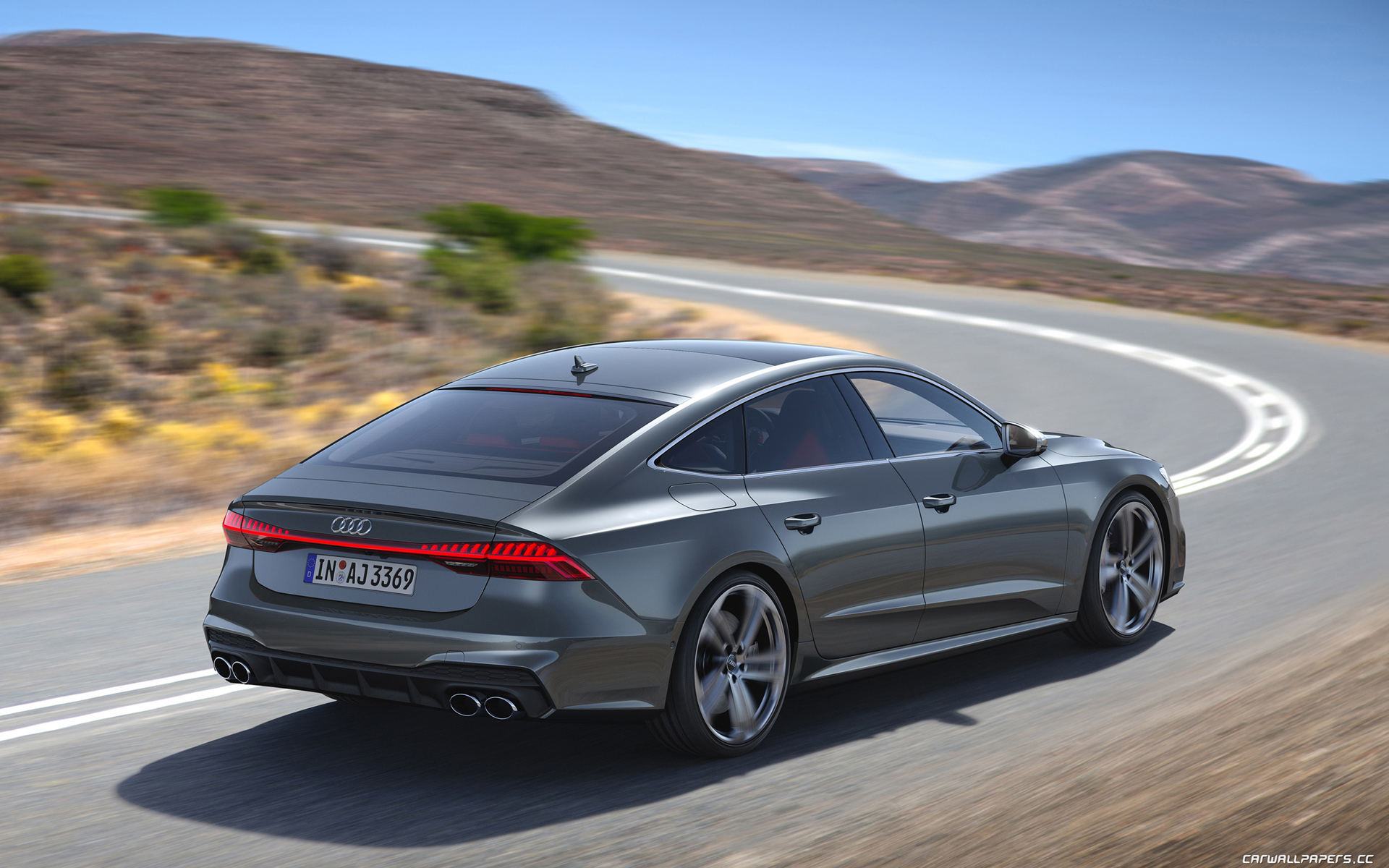 Cars desktop wallpapers Audi S7 Sportback TDI - 2019
