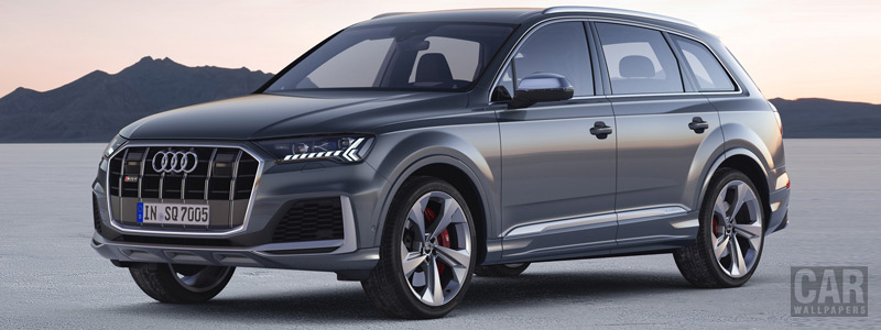 Cars wallpapers Audi SQ7 TDI - 2019 - Car wallpapers