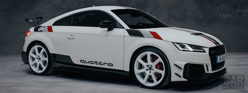 Cars wallpapers Audi TT RS Coupe 40 Jahre quattro - 2020 - Car wallpapers
