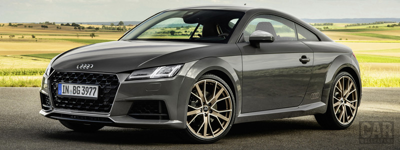 Cars wallpapers Audi TT Coupe bronze selection - 2020 - Car wallpapers