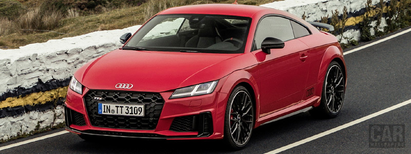 Cars wallpapers Audi TTS competition Coupe - 2019 - Car wallpapers