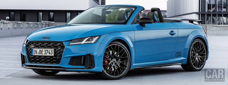 Cars wallpapers Audi TTS Roadster competition plus - 2020 - Car wallpapers
